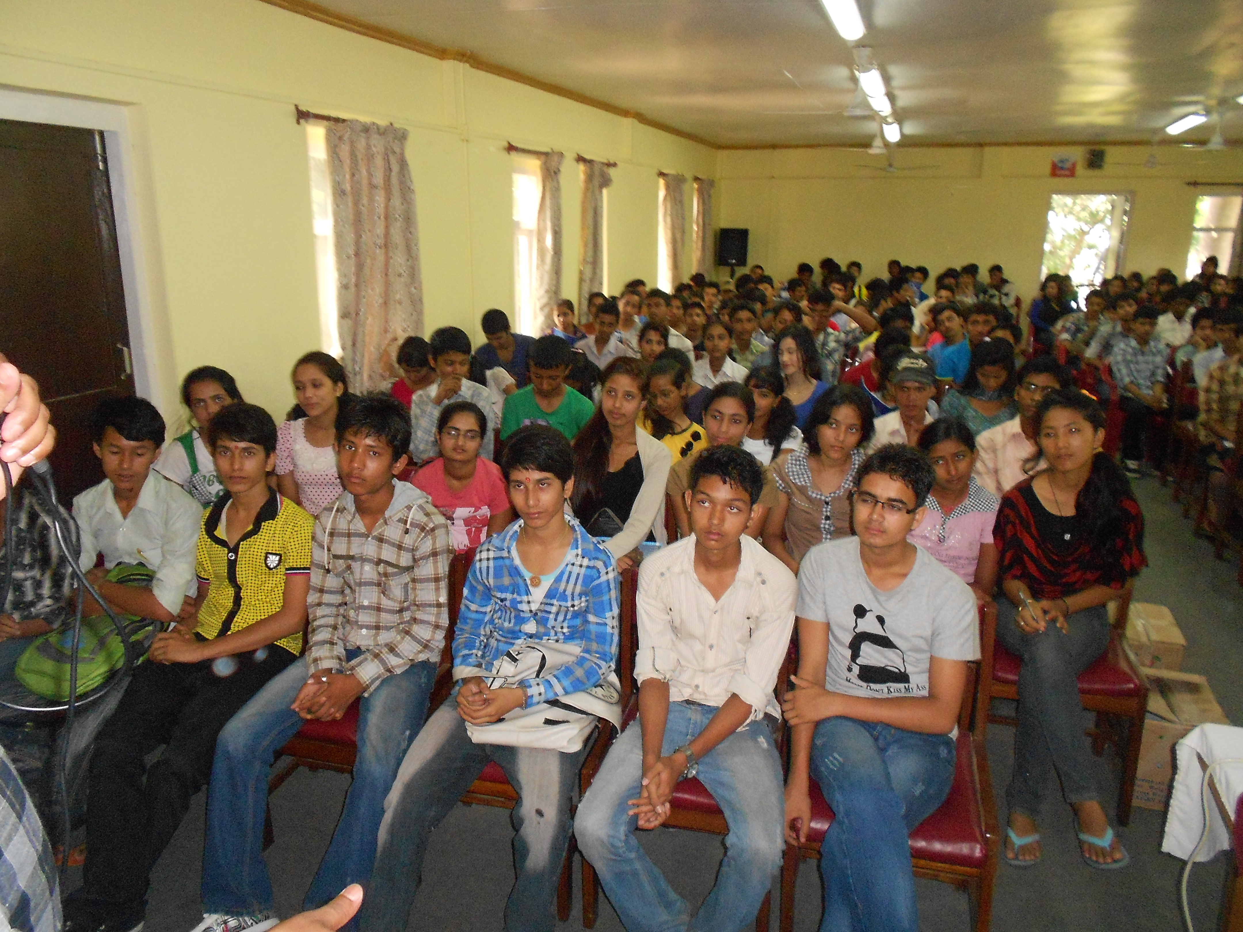 Students in Our Orientation Program